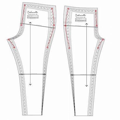 Sizes Grading Pants Grade Between Cashmerette Waist