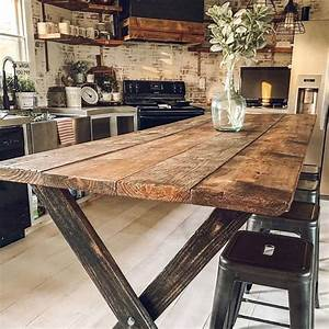 18, Unique, Wood, Table, Ideas, For, Modern, Designs, 2019
