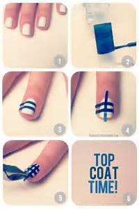Diy nail tutorials with scotch tape