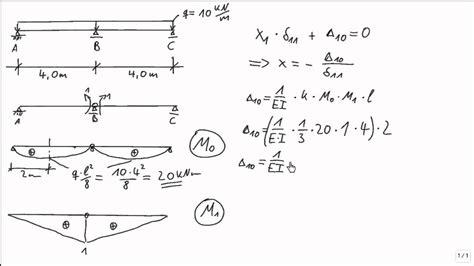 statik berechnen statik kraftgr 246 223 enverfahren zweifeldtr 228 ger linienlast