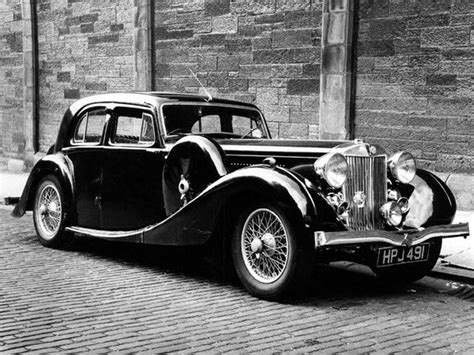 1939 Mg Wa Saloon  1930s Luxury Cars  Pinterest Cars