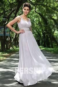 Robe Pour Temoin De Mariage : robe maxi grise pour cocktail de mariage ~ Melissatoandfro.com Idées de Décoration