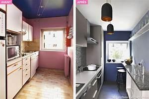 Idée Aménagement Cuisine : am nagement cuisine couloir id e d coration ~ Dode.kayakingforconservation.com Idées de Décoration