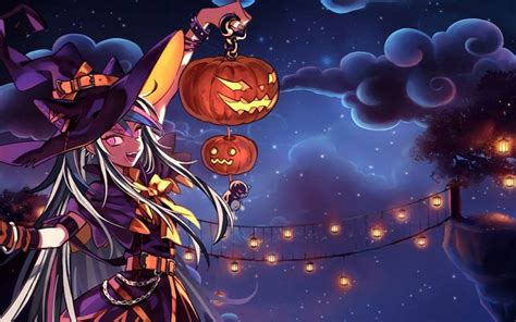 anime halloween wallpaper  images