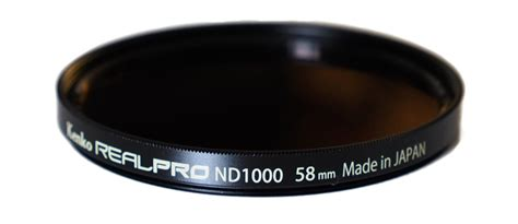 kenko realpro nd1000 10stop filter review ephotozine