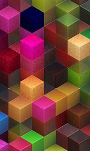 3D Color Cubes 23 Pattern