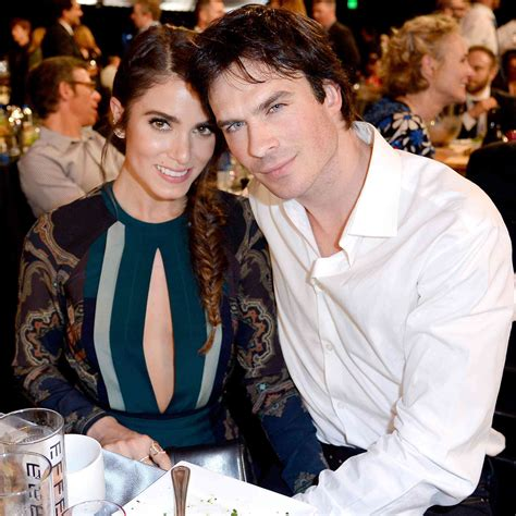 reed ian somerhalder reed and ian somerhalder plan to go quot silent quot when
