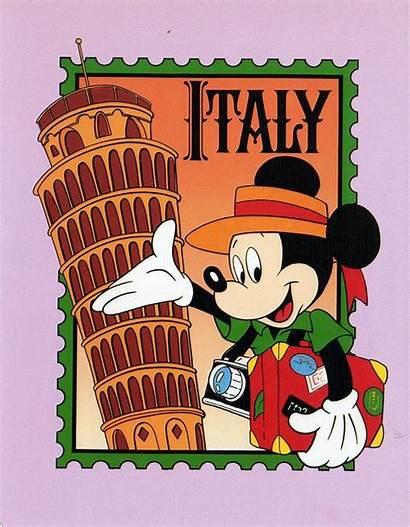 Mickey Disney Italy Mouse Minnie Greece Cartoon
