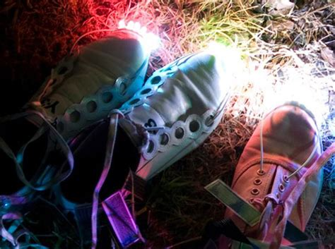 make your own solar powered shoes inhabitat