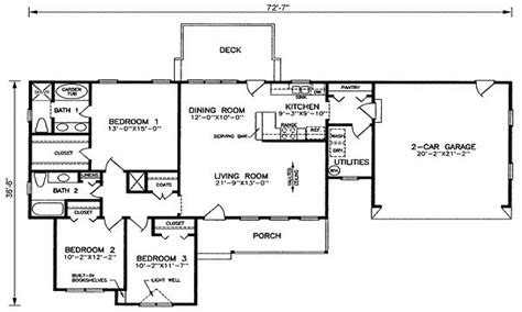 open floor plan house plans  sq ft  square feet house plans  sq ft bungalow floor