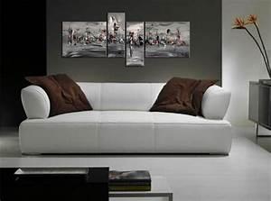 Tableau Moderne Noir Et Blanc : tableau design peintures abstraites modernes d 39 artiste peintre contemporain ~ Teatrodelosmanantiales.com Idées de Décoration