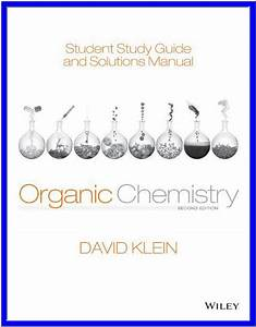 Student Study Guide And Solutions Manual For Organic
