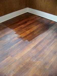 changing  floor color  refinishing home diy