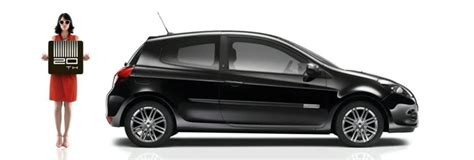 Renault Unveils The Clio 20th Anniversary Special Edition