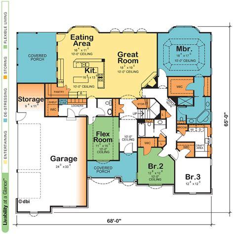 One Story Home Design Plans  Escortsea