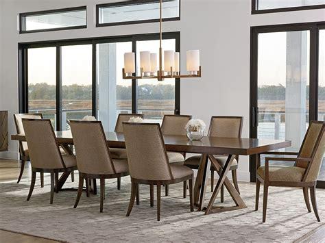 Zavala Loggia Rectangular Double Pedestal Dining Room Set