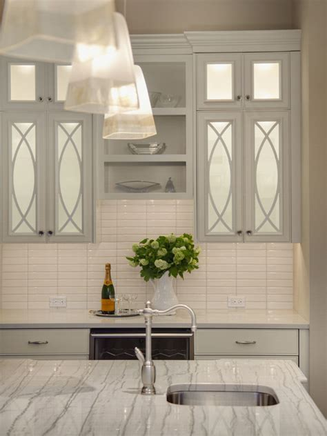 Mirrored Kitchen Cabinets by Mirrored Kitchen Cabinets Contemporary Kitchen