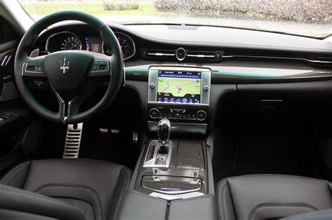 new maserati interior maserati quattroporte 2014 interior image 28