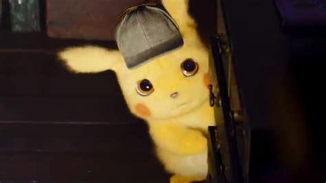 Detective Pikachu Trailer Coming Tomorrow
