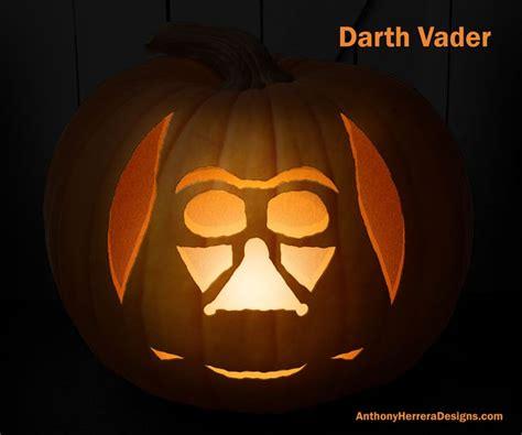 print  carve  star wars pumpkins darth vader