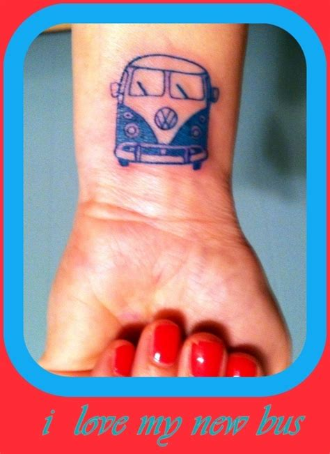 volkswagen bus tattoo 56 best images about vw and volvo tattoos on pinterest