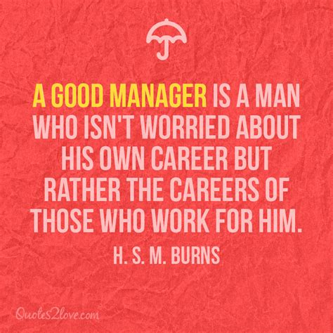 Best Quotes For A Good Manager