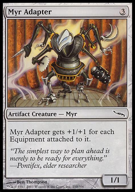 mtg myr deck ideas proxies for deck quot godo s blade of selves quot deckstats net