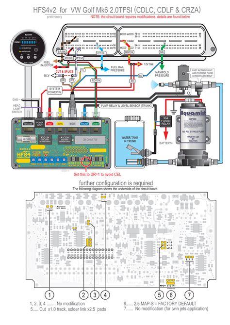 vw golf 5 6 tfsi waterinjection info