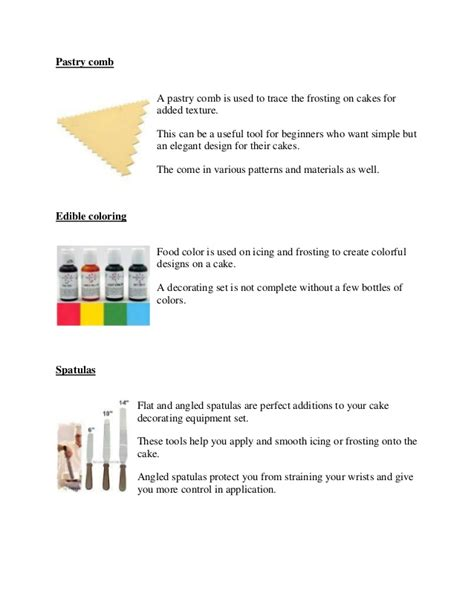 How To Use Cake Decorating Tips by Cake Decorating Equipment Basic Tools You Really Need