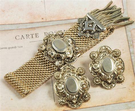 deco gold deco gold mesh bracelet with earrings deco jpg 70