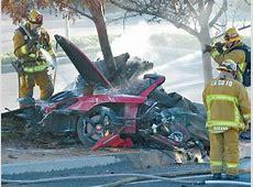 Paul Walker's Crash Porsche Carrera GT Suspected of