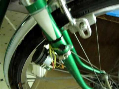 bicycle light generator bike light generator from stepper motor