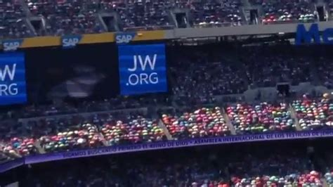 asamblea internacional de los testigos de jehova