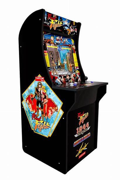 Arcade Arcade1up Cabinet Fight 1up Final Games