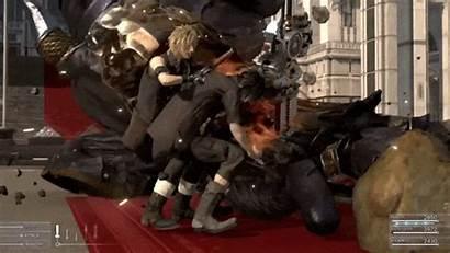 Fantasy Final Xv Combat Down Broken Phenomenon