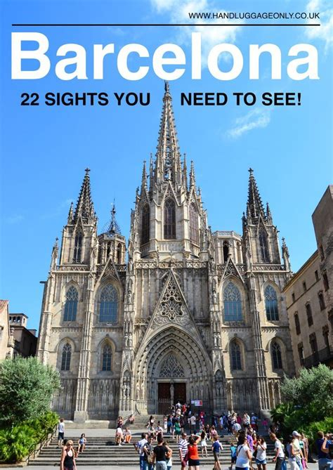 Best Places In Barcelona To Visit by 22 Best Things To Do In Barcelona Spain Barcelona