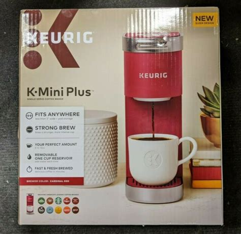 The keurig k mini plus has another handy feature which turns the machine off automatically after 90 seconds of inactivity. Keurig K Mini Plus Coffee Maker - Cardinal Red for sale online | eBay