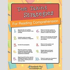 Test Taking Strategies Lessons  Reading Comprehension  Ela Grades 56