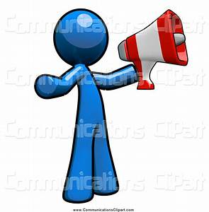 Man With Megaphone Free Clipart (15+)