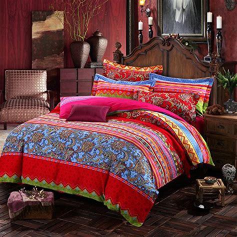 comforter sets on sale lelva boho style bedding set bohemian ethnic style bedding