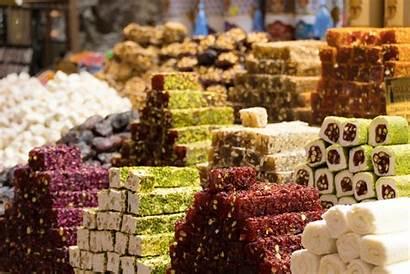 Turkish Delight Loukoum Dunia Turkey Belahan Berbagai