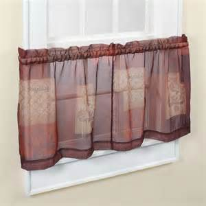 northcrest eden kitchen tier curtain 56 quot x24 quot