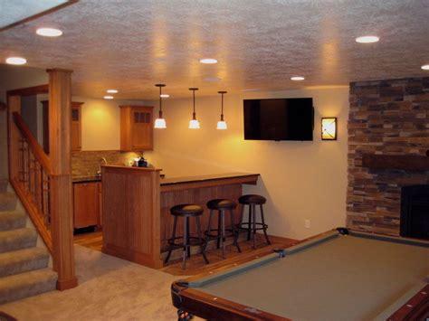 High End Basement Design  Home Design