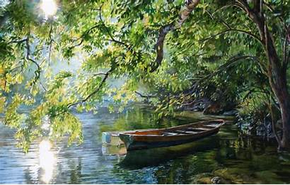 Miller Stan Watercolor Artist Paintings Landscape Painting