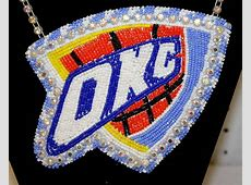 Beaded OKC Thunder Logo eBay Find of the Week PowWows