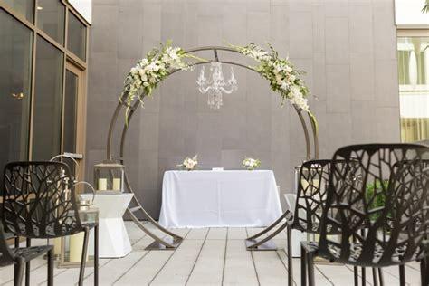 circle arch  wedding party rentals  sales  san