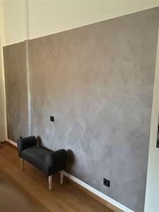 Beton Effekt Farbe : die italienische lasur wurde von hand in einem modernen ~ Michelbontemps.com Haus und Dekorationen