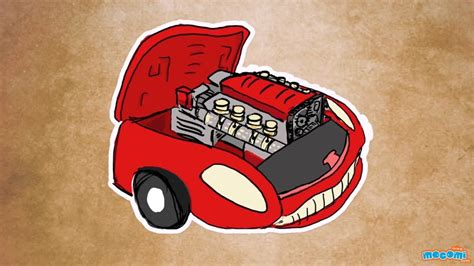 How Does A Car Engine Work? (with Narration)