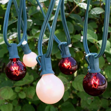 christmas lights commercial cord and bulb kits