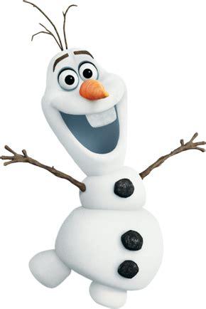 Картинка Олафа без фона  Холодное Сердце Frozen